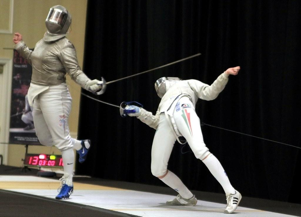 Photo Of The Day Funky Sabre Fencing Fencing Net