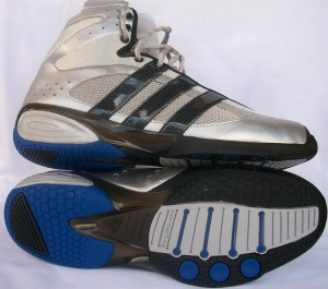 The Adidas High Top fencing shoes are now on sale for a clearance price of