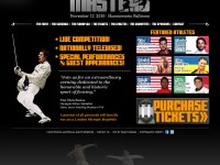 NYC Fencing Masters - A new Professional and televised fencing event