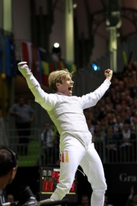 Peter Joppich at the 2010 Fencing World Championships