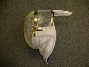 sabre fencing mask