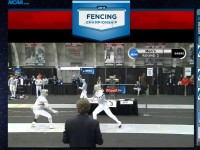 NCAA Fencing Championships: Live Video