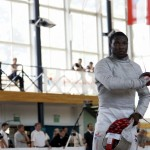 Daryl Homer fencing in Warsaw