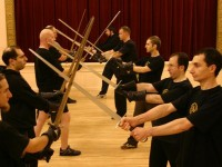 Picture from a class at Sword Fight London