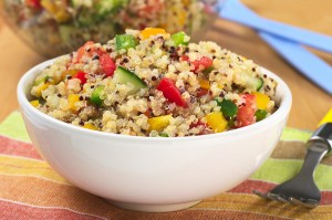 This salad is one tasty way to prepare quinoa.  (photo via BigStock)