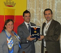 Diego Occhiuzzi won a multi-sport gym for his home town of Naples. (FederScherma.it)