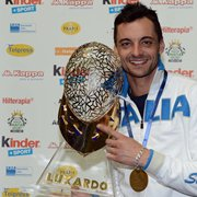 Diego Occhiuzzi won the Trophy Luxardo World Cup