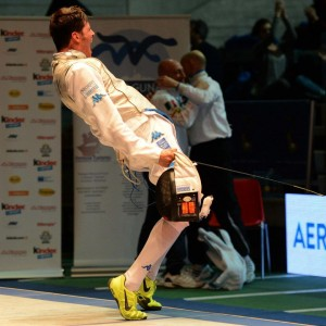 Andrea Cassara - victorious. (Photo: Augusto Bizzi)
