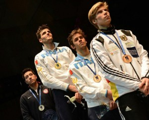 Gerek Meinhardt (left) topped the US results with silver. (Photo Augusto Bizzi)