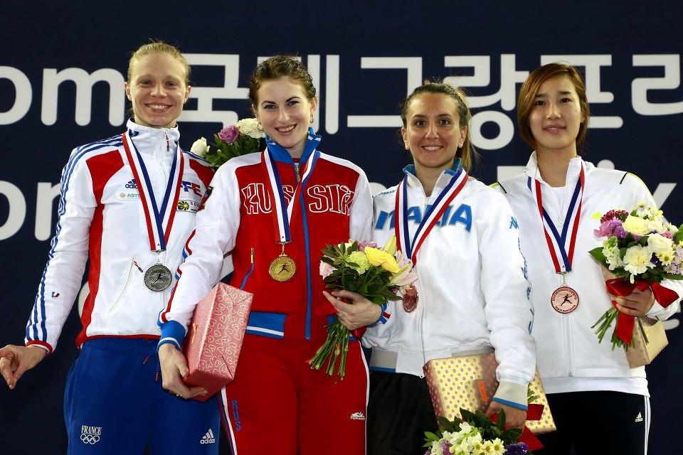 SK Telecom Foil World Cup & Grand Prix, Seoul, South Korea ©2013 Serge Timacheff/FIE/FencingPhotos.com