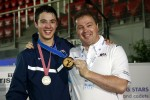 Alex Massialas captured gold in Junior Men's Foil. Photo S.Timacheff/FencingPhotos.com