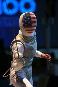 Lee Kiefer placed on the podium for Team USA. Photo: S.Timacheff/FencingPhotos.com