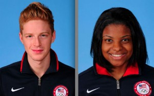 Race Imboden and Nzingha Prescod - USA Foilists