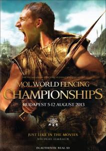 Nicolas Limbach in Fencing Poster