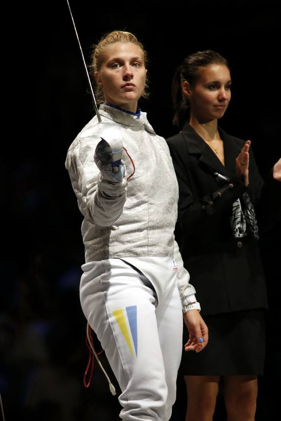 Olga Kharlan - 2013 Womens Sabre World Champion