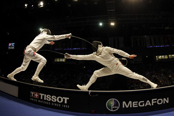 men's epee fencing