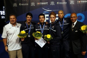2013 US Men's Foil Team. Photo:S.Timacheff/FencingPhotos.com