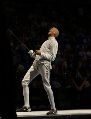 Fencing: Miles Chamley-Watson