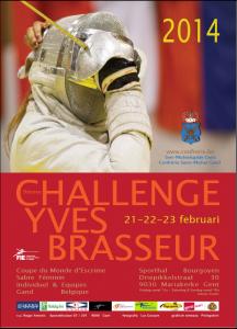 2014 Challenge Yves Brasseur Poster