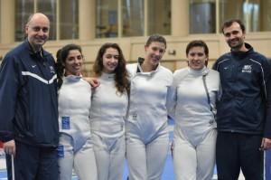 Team USA Women's Epee