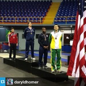Eli Dershwitz wins gold in Men's Sabre at the 2014 Pan Am Championships