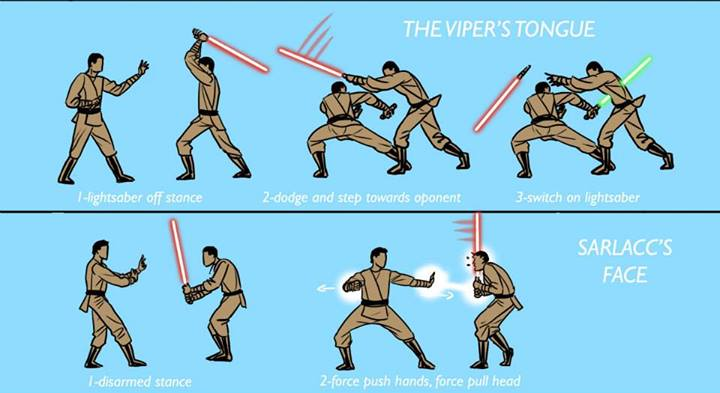 lightsaber techniques