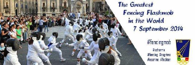 fencingmob - the fencing flash mob