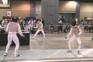 Fencing at the Richmond Convention Center