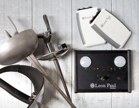 Leon Paul Wireless 3 weapon scoring system