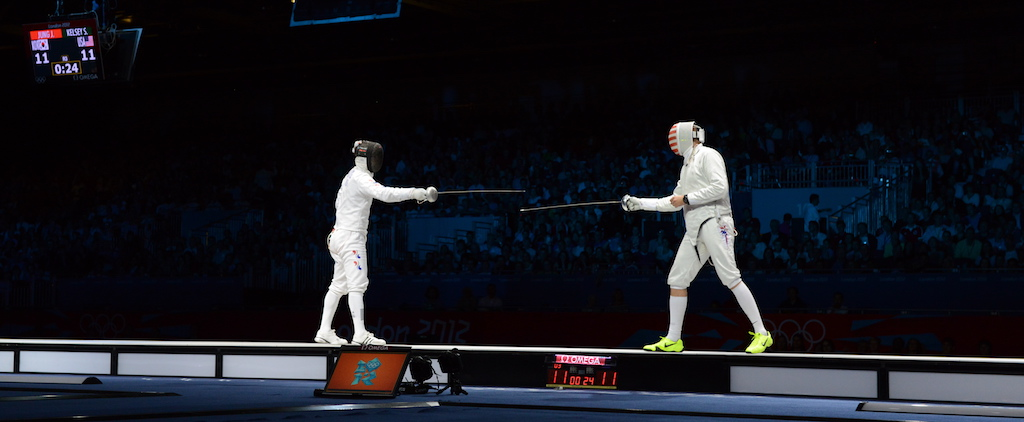 Epee Non Combativity at the 2012 Olympics