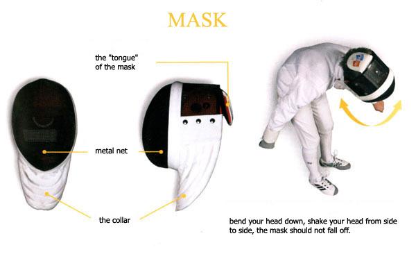 fencing mask safety