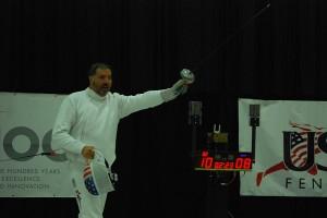 Bob Cochrane: 1949-2016. Image Courtesy of USA Fencing