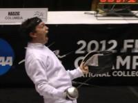 Jonathan Yergler yelling at things.