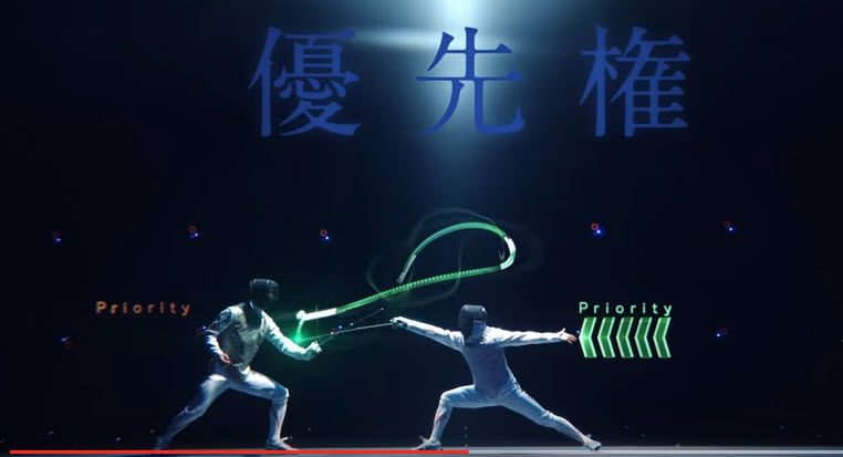 Fencing - Magazine cover
