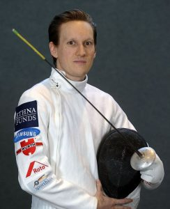 Benjamin Kleibrink (GER) won the Olympic Gold medal in Men's Foil at the Beijing Olympics