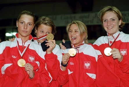 2003 Polish Women's Foil Team - World Champions