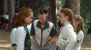 Lindsay Lohan Fencing Scene in the Parent Trap