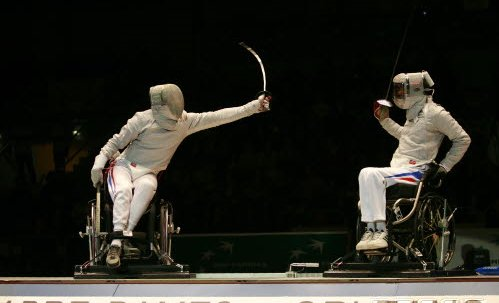 Wheelchair Fencing - S.Timacheff/FencingPhotos.com