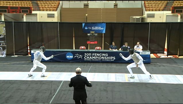 Men's Foil NCAA Championship Bout