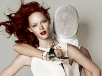 Harpers UK has fencing in a photo spread