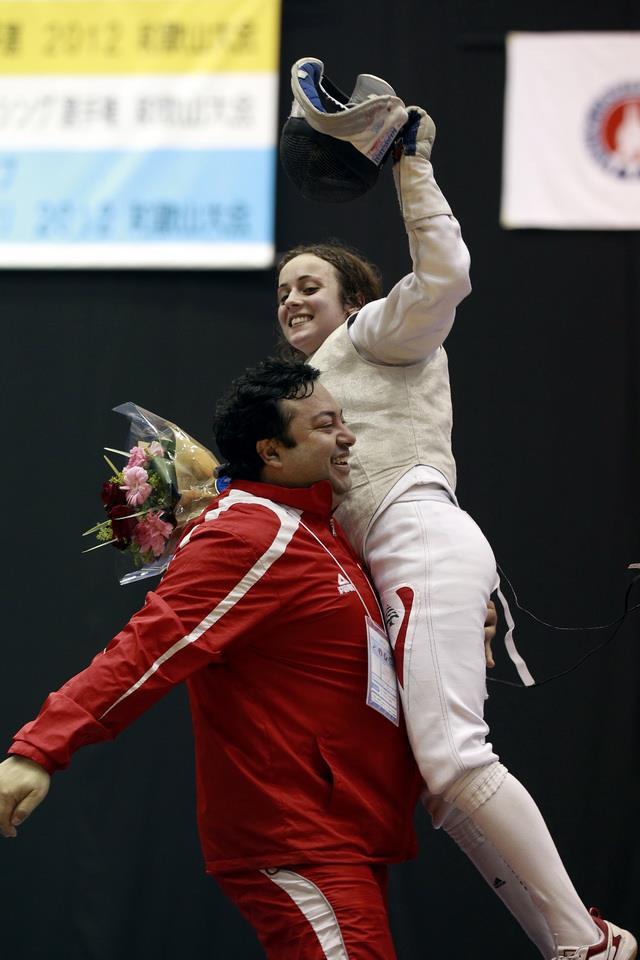 Women's Foil Asian Olympic Qualifiers - Shaito (LIB) v Ng (SIN)