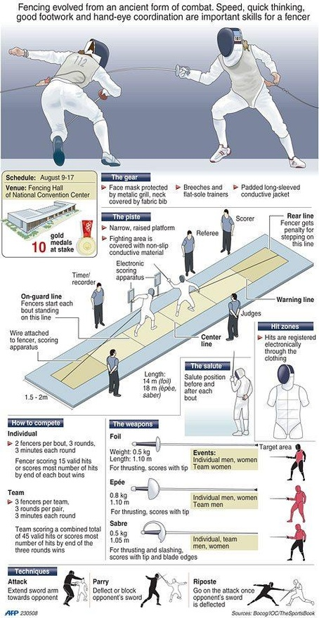 Fencing Infographic Fencing Net