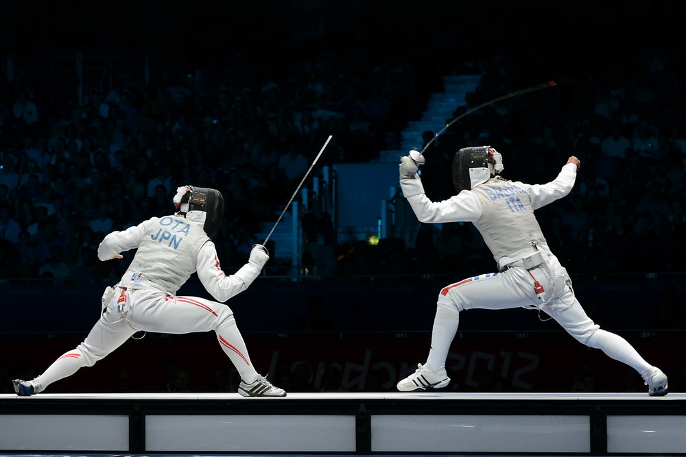 Italy Claims Men S Foil Gold Fencing Net