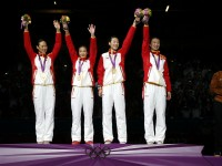 China wins Olympic Gold in Women's Team Epee.  Photo: S.Timacheff/FencingPhotos.com