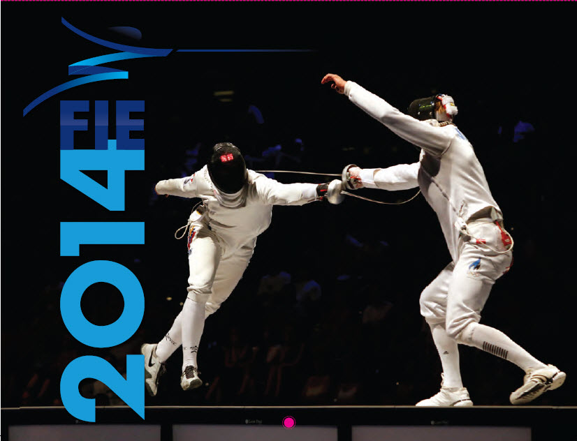 2014 Fencing Calendar Cover image by Serge Timacheff