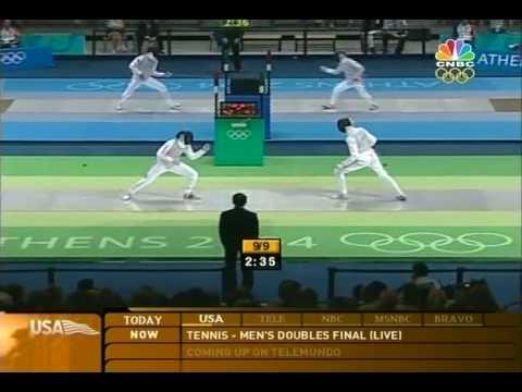 Dan Kellner at the 2004 Olympics