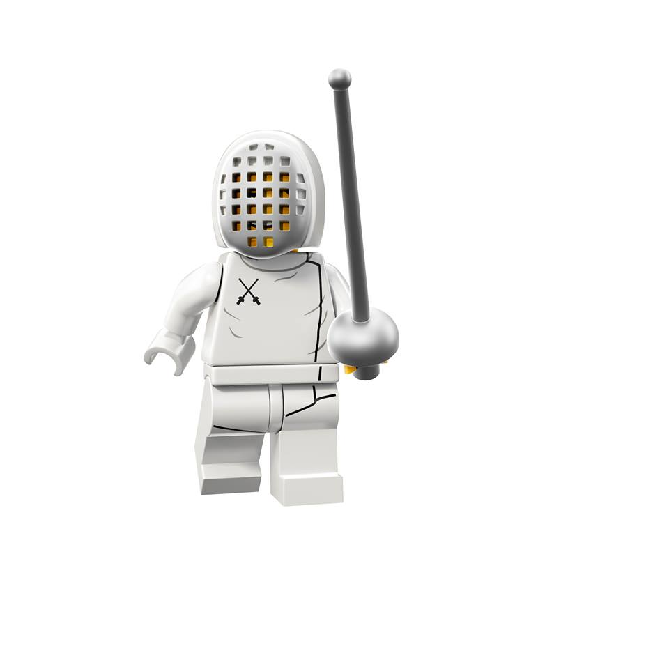 LEGO Fencer Minifigure