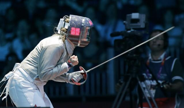 Dagmara Wozniak fencing