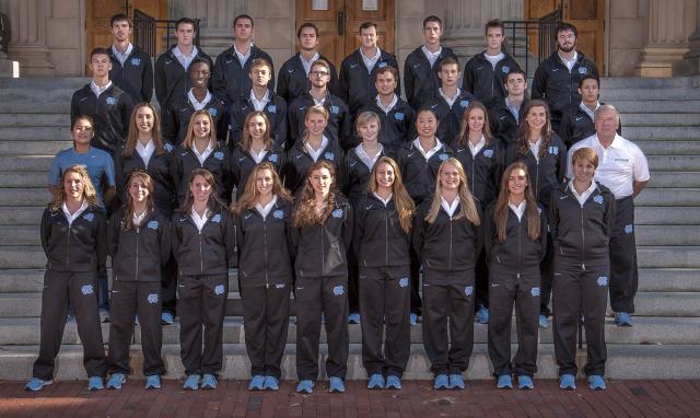UNC Varsity Fencing Team 2014-2015