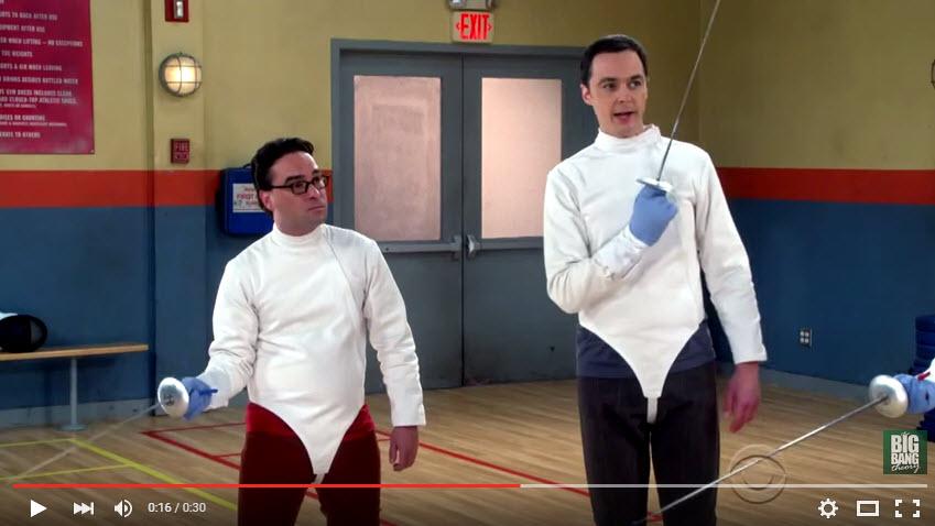 Fencing on the Big Bang Theory